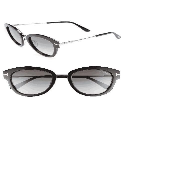 【海外限定】サングラス 眼鏡 【 MIA 55MM CAT EYE SUNGLASSES 】