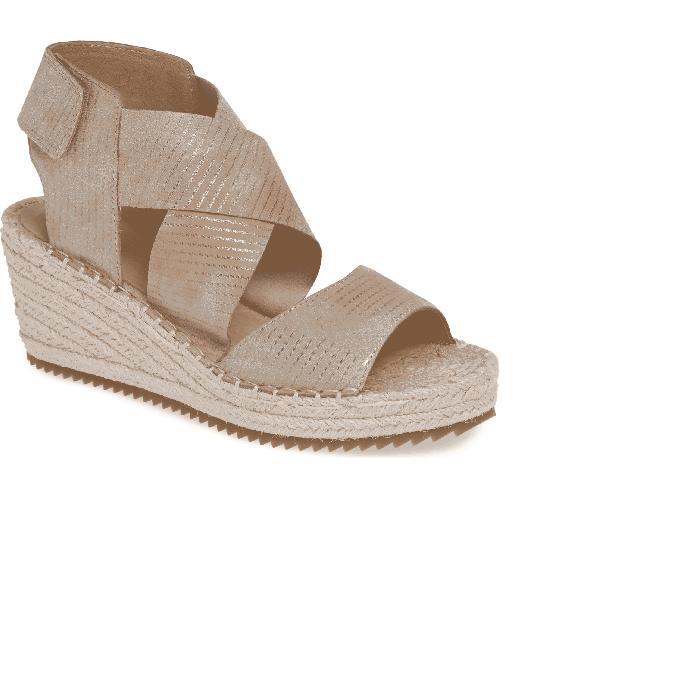 【海外限定】'WILLOW' 靴 レディース靴 【 ESPADRILLE WEDGE SANDAL 】