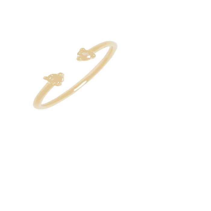 【海外限定】コレクション レディースジュエリー 指輪 【 COUNTING COLLECTION TWOSTEP SAPPHIRE RING 】