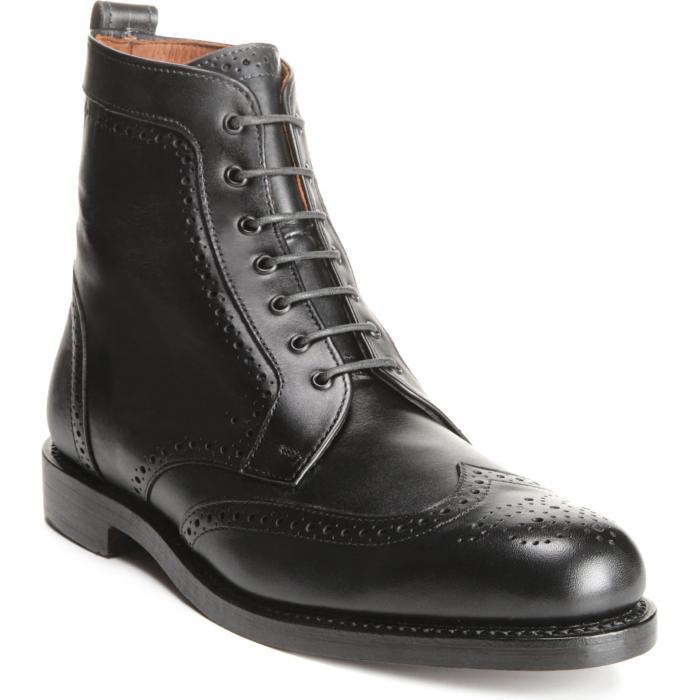 ALLEN EDMONDS ブーツ メンズ 【 Dalton Wingtip Boot 】 Black