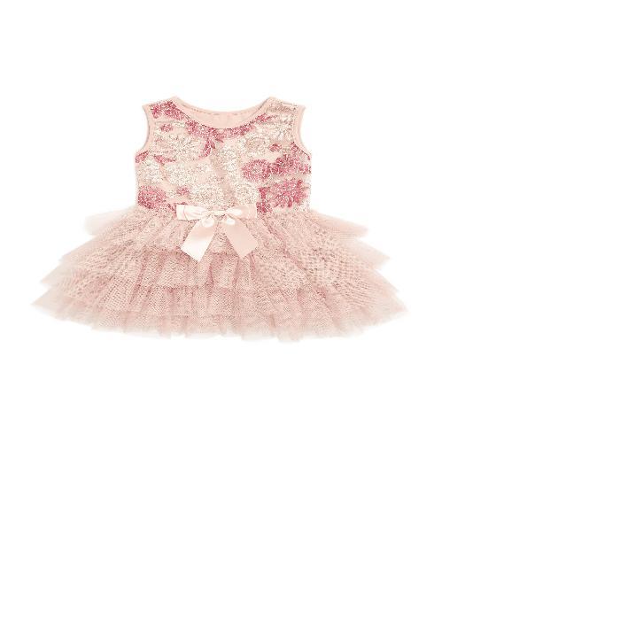 【海外限定】ドレス ベビー マタニティ 【 POPATU EMBROIDERED FLORAL TULLE DRESS 】【送料無料】