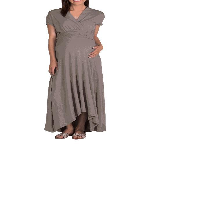 【海外限定】ドレス 'CAROLINE' ベビー マタニティ 【 MATERNITY NURSING MAXI DRESS 】