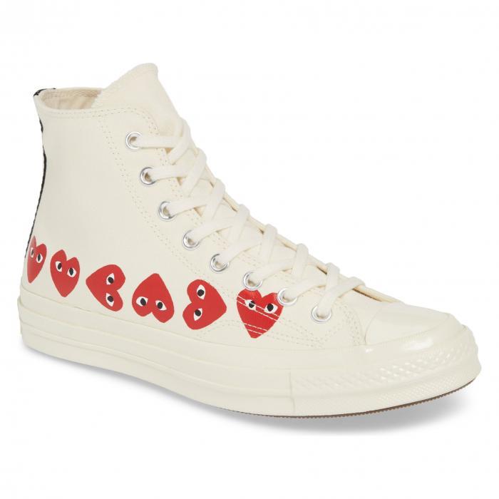 【海外限定】GAR・・ONS スニーカー メンズ靴 靴 【 COMME DES PLAY MULTIHEART SNEAKER 】【送料無料】