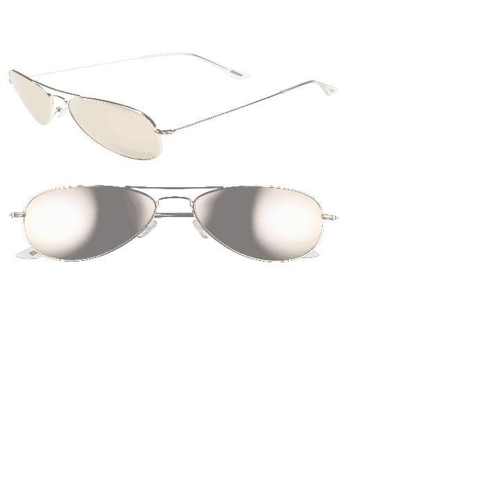 【海外限定】メタル サングラス 眼鏡 【 CRUZ 57MM METAL AVIATOR SUNGLASSES 】