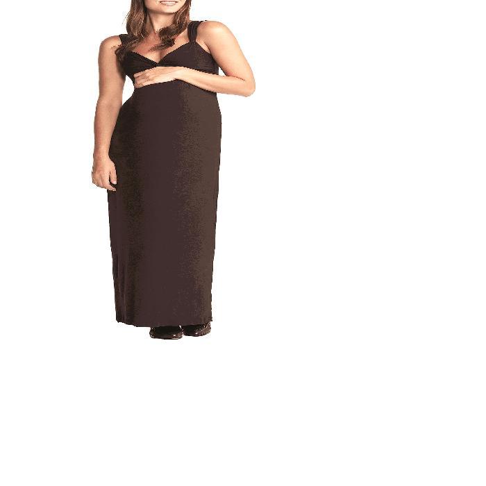 【海外限定】ジャージ ドレス 'CALLIE' マタニティウエア 授乳服 【 JERSEY MAXI MATERNITY DRESS 】