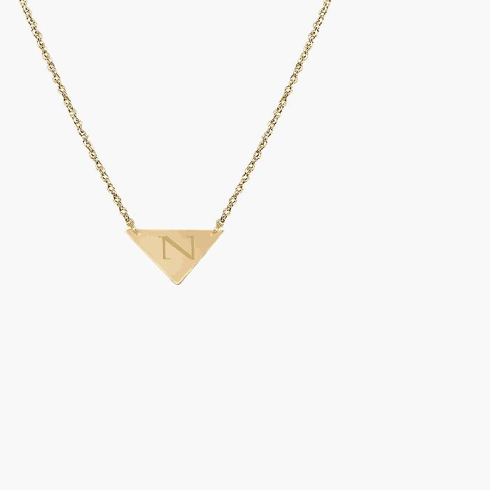 JANE BASCH DESIGNS 【 PERSONALIZED INITIAL PENDANT NECKLACE GOLD N 】 ジュエリー アクセサリー レディースジュエリー ネックレス 送料無料