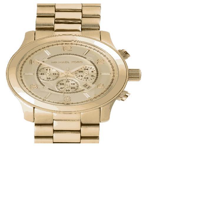【海外限定】ブレスレット 'LARGE RUNWAY' WATCH, 男女兼用腕時計 腕時計 【 CHRONOGRAPH BRACELET 45MM 】