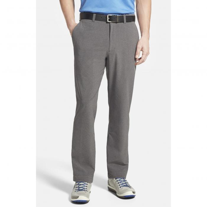CUTTER & BUCK 【 BAINBRIDGE DRYTEC FLAT FRONT STRAIGHT LEG PANTS IRON 】 メンズファッション ズボン パンツ 送料無料