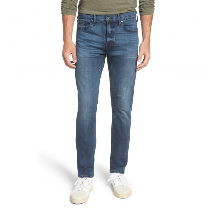 PAIGE スリム 【 SLIM TRANSCEND LENNOX FIT STRAIGHT LEG JEANS GRAMMERCY 】 メンズファッション ズボン パンツ 送料無料