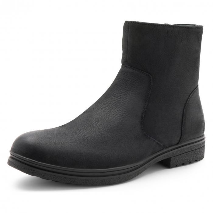 ブロンド BLONDO ブーツ メンズ 【 Sylvio Waterproof Zip Boot 】 Black Nubuck