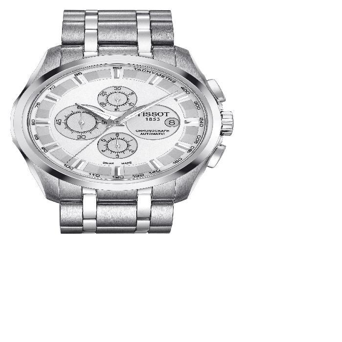 【海外限定】ブレスレット WATCH, 腕時計 男女兼用腕時計 【 COUTURIER AUTOMATIC CHRONOGRAPH BRACELET 43MM 】