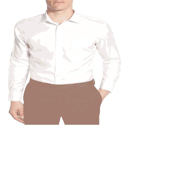 【海外限定】ソリッド ドレス SMARTCARE・・< SUP> トップス ワイシャツ 【 SOLID TRIM FIT DRESS SHIRT 】