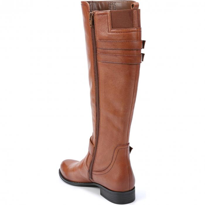 NATURALIZER ハイ ブーツ レディース 【 Jessie Knee High Riding Boot 】 Banana Bread Leather