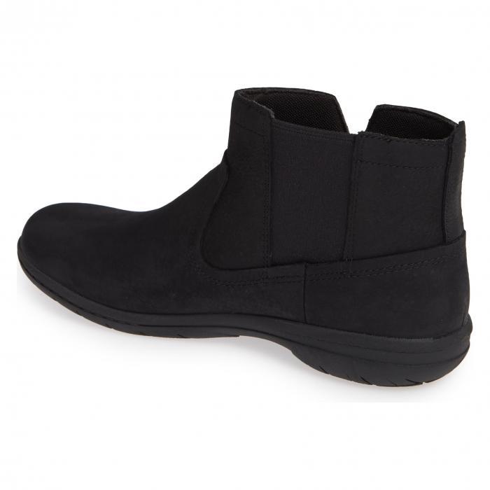 MERRELL レディース 【 Encore Kassie Waterproof Bootie 】 Black Leather