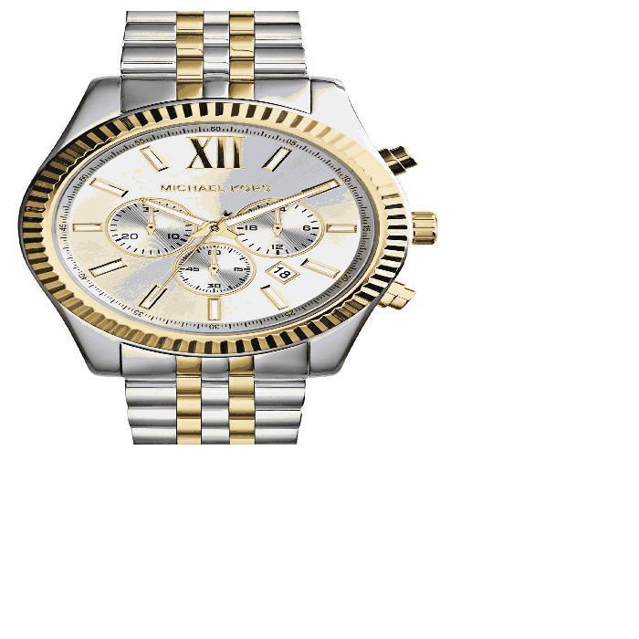 【海外限定】ブレスレット WATCH, 男女兼用腕時計 腕時計 【 LARGE LEXINGTON CHRONOGRAPH BRACELET 45MM 】