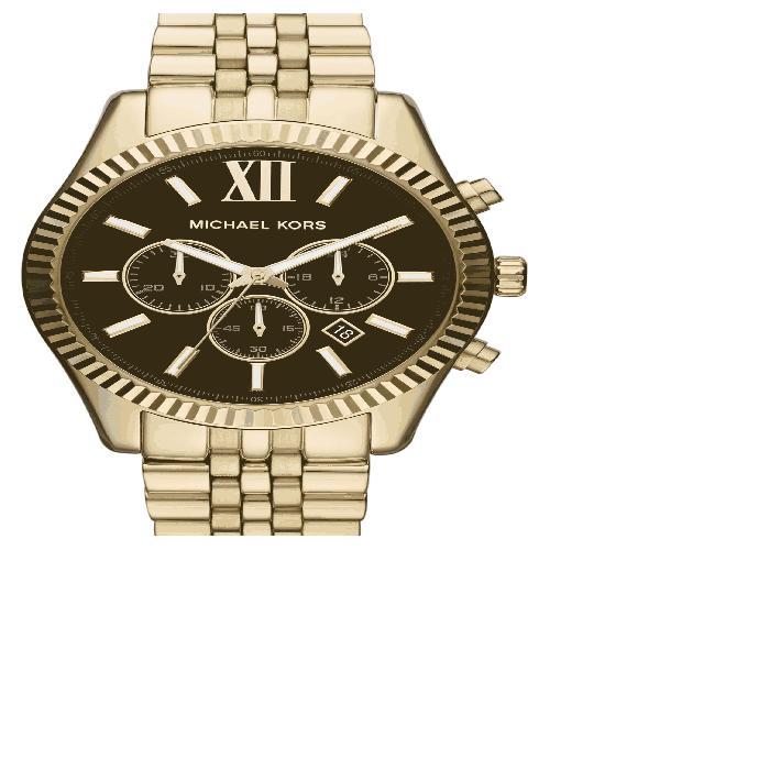 【海外限定】ブレスレット 'LARGE LEXINGTON' WATCH, 腕時計 男女兼用腕時計 【 CHRONOGRAPH BRACELET 45MM 】