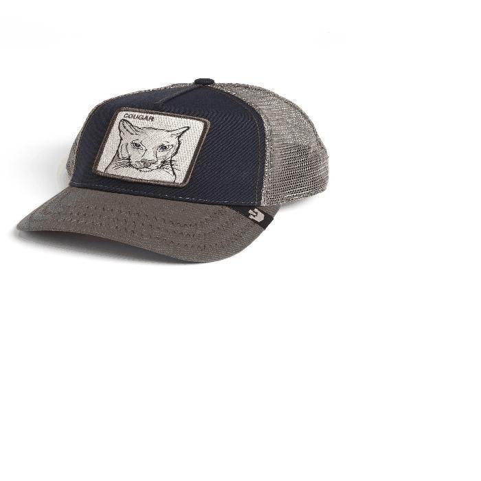 【海外限定】トラッカー 'ANIMAL COUGAR' 帽子 バッグ 【 FARM TRUCKER HAT 】