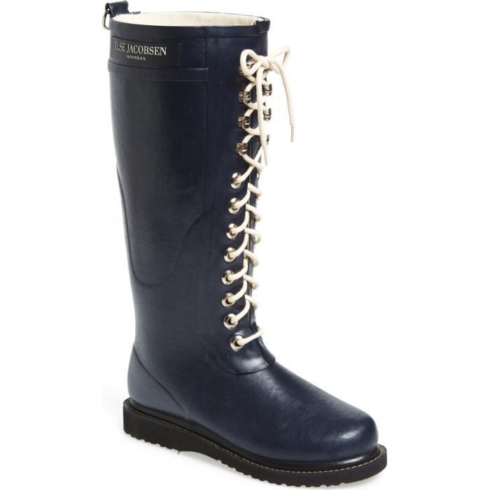 ILSE JACOBSEN ラバー ブーツ レディース 【 Rubber Boot 】 Dark Indigo