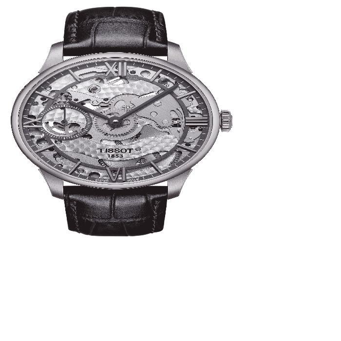 【海外限定】WATCH, 男女兼用腕時計 腕時計 【 TCOMPLICATION SQUELLETTE MECHANICAL 42MM 】