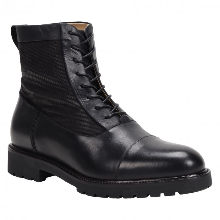ROSS & SNOW キャップ 帽子 【 CAP TOE WEATHERPROOF BOOT BLACK 】 メンズ ブーツ 送料無料