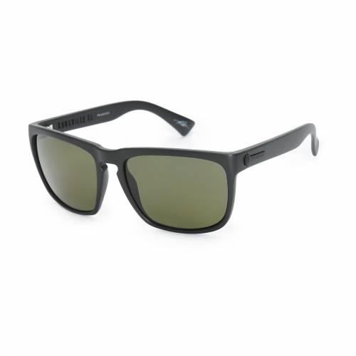 <title>ファッションブランド カジュアル ファッション アクセサリー ☆正規品新品未使用品 ELECTRIC サングラス 黒色 ブラック KNOXVILLE XL POLARIZED SUNGLASSES BLACK バッグ 眼鏡</title>