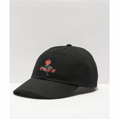 ファッションブランド カジュアル ファッション キャップ ハット THE 1着でも送料無料 ARTIST COLLECTIVE 黒色 帽子 HAT BLACK YOU STRAPBACK LUCKY ブラック 日本限定 バッグ メンズキャップ