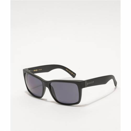 <title>ファッションブランド カジュアル ファッション アクセサリー VON ZIPPER 黒色 ブラック サテン 灰色 グレー サングラス VONZIPPER ELMORE BLACK SATIN GREY 無料 POLARIZED SUNGLASSES バッグ 眼鏡</title>