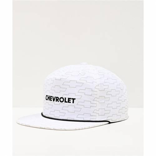 ファッションブランド 最安値挑戦 カジュアル ファッション ブリクストン BRIXTON 白色 ホワイト スナップバック バッグ SNAPBACK COVERED メンズキャップ WHITE EL 帽子 X キャップ CHEVY HAT 永遠の定番モデル CAMINO