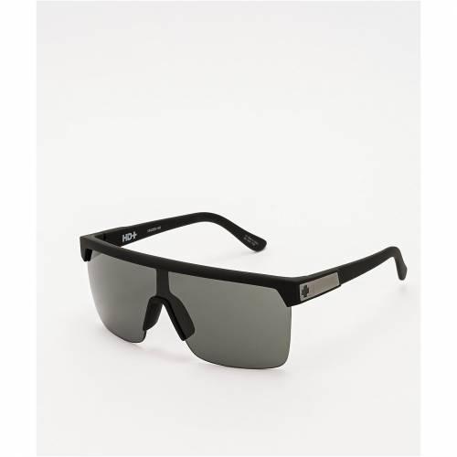 <title>ファッションブランド カジュアル ファッション 受賞店 アクセサリー SPY 黒色 ブラック 灰色 グレー 緑 グリーン サングラス GREEN FLYNN 5050 HD PLUS SOFT MATTE BLACK GREY SUNGLASSES バッグ 眼鏡</title>