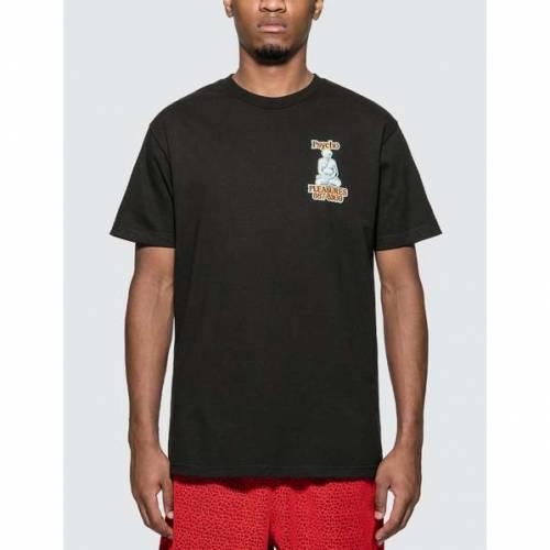 PLEASURES Tシャツ 黒 ブラック 【 BLACK PLEASURES PYSCHO TSHIRT 】 メンズファッション トップス Tシャツ カットソー
