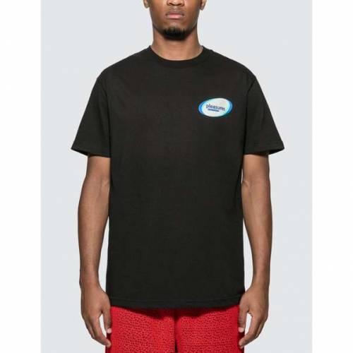 PLEASURES パワー Tシャツ メンズファッション トップス カットソー メンズ 【 Raw Power T-shirt 】 Black