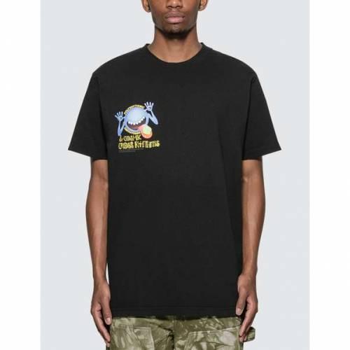 REAL BAD MAN Tシャツ 黒 ブラック 【 BLACK REAL BAD MAN PILL HEAD TSHIRT 】 メンズファッション トップス Tシャツ カットソー
