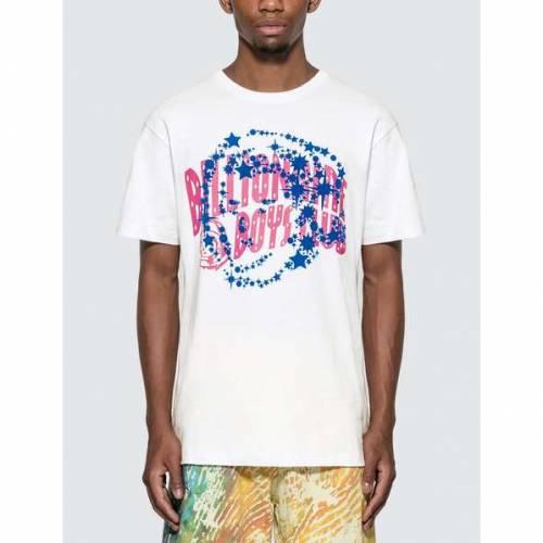 ビリオネアボーイズクラブ BILLIONAIRE BOYS CLUB クラブ Tシャツ 白 ホワイト 【 WHITE BILLIONAIRE BOYS CLUB STARDUST TSHIRT 】 メンズファッション トップス Tシャツ カットソー