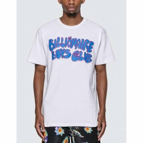 ビリオネアボーイズクラブ BILLIONAIRE BOYS CLUB クラブ Tシャツ 白 ホワイト 【 WHITE BILLIONAIRE BOYS CLUB SCRABBLE TSHIRT 】 メンズファッション トップス Tシャツ カットソー