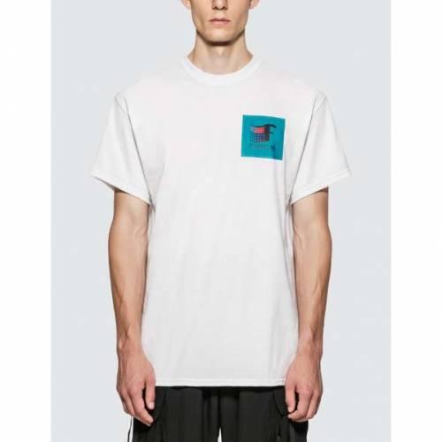 FLAGSTUFF Tシャツ 黒 ブラック 【 BLACK FLAGSTUFF 93 TSHIRT 】 メンズファッション トップス Tシャツ カットソー