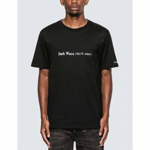 TAKAHIROMIYASHITA THESOLOIST ウェーブ ウェイブ Tシャツ 黒 ブラック 【 WAVE BLACK TAKAHIROMIYASHITA THESOLOIST DARK TSHIRT 】 メンズファッション トップス Tシャツ カットソー