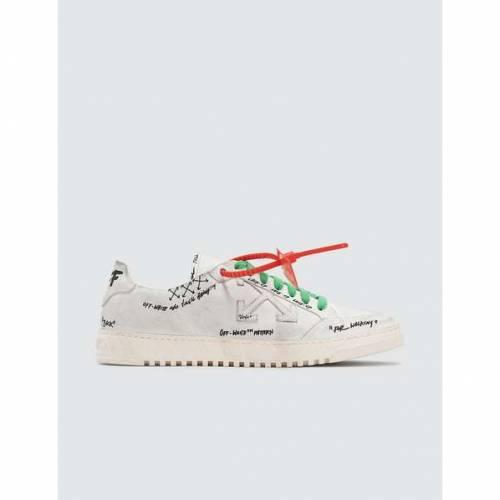 OFF-WHITE 2.0 スニーカー メンズ 【 2.0 Graffiti Sneaker 】 White