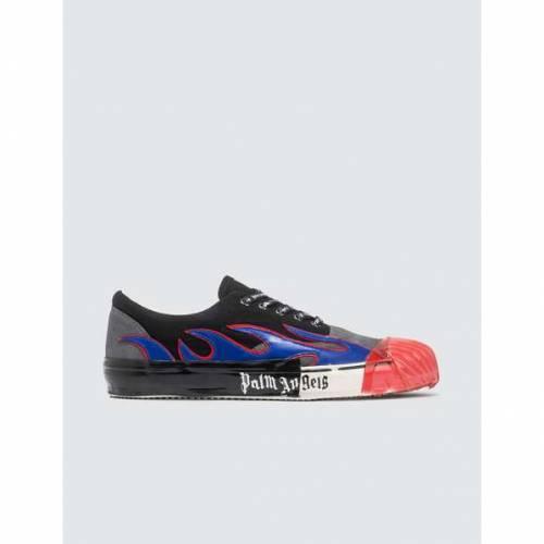 PALM ANGELS スニーカー メンズ 【 Flame Sneaker 】 Blue / Black