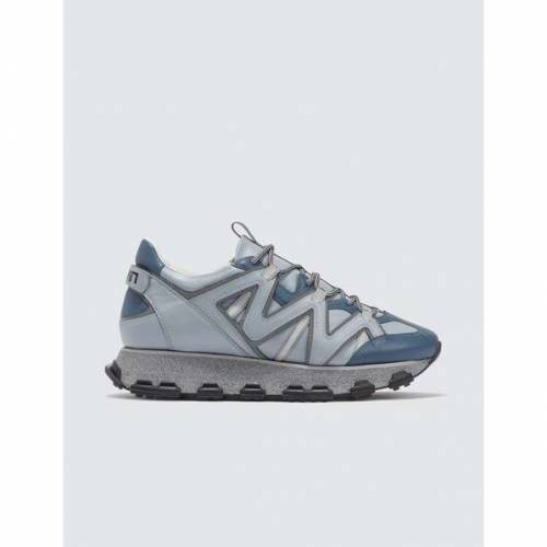 LANVIN スニーカー メンズ 【 Lightning Sneaker 】 Grey-blue