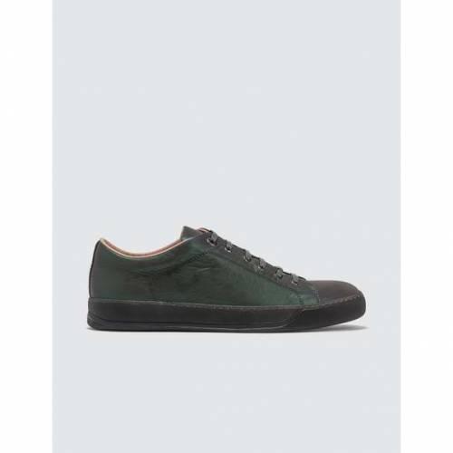 LANVIN スニーカー メンズ 【 Low Top Sneaker Matt Reflective Calf 】 Multicolor
