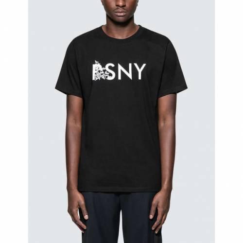 PUBLIC SCHOOL 半袖 Tシャツ 黒 ブラック 【 BLACK PUBLIC SCHOOL NEWMAN S TSHIRT 】 メンズファッション トップス Tシャツ カットソー