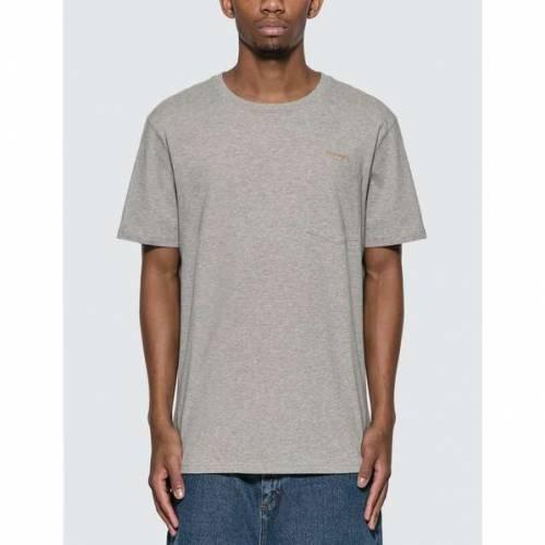 HARMONY Tシャツ GRAY灰色 グレイ 【 GREY HARMONY TEDDY CURSIVE TSHIRT ASH 】 メンズファッション トップス Tシャツ カットソー