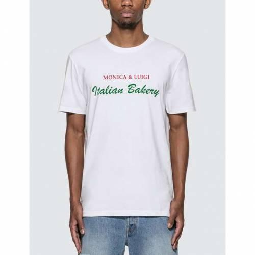 HARMONY Tシャツ 白 ホワイト & 【 WHITE HARMONY MONICA LUIGI TSHIRT 】 メンズファッション トップス Tシャツ カットソー