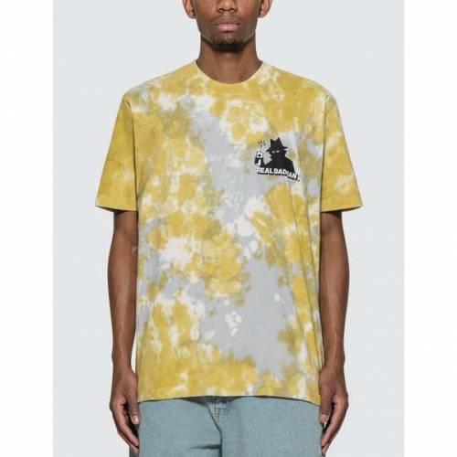 REAL BAD MAN ロゴ Tシャツ 緑 グリーン VOL.5 【 GREEN REAL BAD MAN RBM LOGO TSHIRT TIE DYE 】 メンズファッション トップス Tシャツ カットソー
