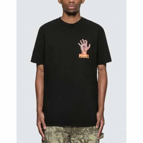 REAL BAD MAN Tシャツ 黒 ブラック 【 BLACK REAL BAD MAN RBM V TSHIRT 】 メンズファッション トップス Tシャツ カットソー