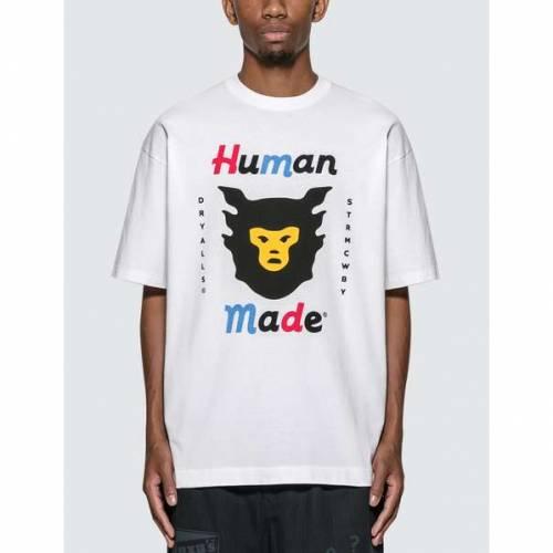 HUMAN MADE Tシャツ #1921 メンズファッション トップス カットソー メンズ 【 T-shirt #1921 】 White