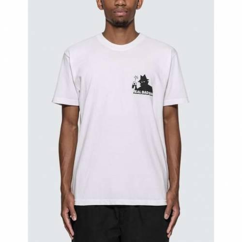 REAL BAD MAN ロゴ Tシャツ 白 ホワイト VOL. 【 WHITE REAL BAD MAN RBM LOGO 5 TSHIRT 】 メンズファッション トップス Tシャツ カットソー