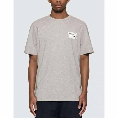A.P.C. Tシャツ 灰色 グレ A.P.C. 【 PEPPER TSHIRT GREY 】 メンズファッション トップス Tシャツ カットソー