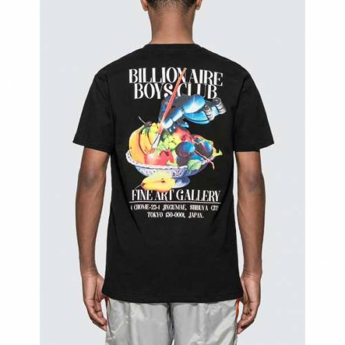ビリオネアボーイズクラブ BILLIONAIRE BOYS CLUB クラブ Tシャツ 黒 ブラック 【 BLACK BILLIONAIRE BOYS CLUB BBC GALLERY TSHIRT 】 メンズファッション トップス Tシャツ カットソー