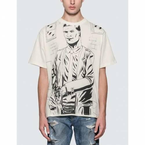 424 コミックス Tシャツ 白 ホワイト 【 WHITE 424 KILLER COMICS TSHIRT 】 メンズファッション トップス Tシャツ カットソー